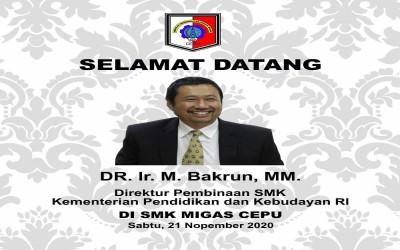 Kunjungan Bapak DR. Ir. M. Bakrun, MM.