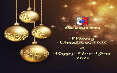Selamat Hari Natal 2020 dan Tahun Baru 2021